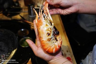 台南燒烤吃到飽超大隻泰國蝦任你夾