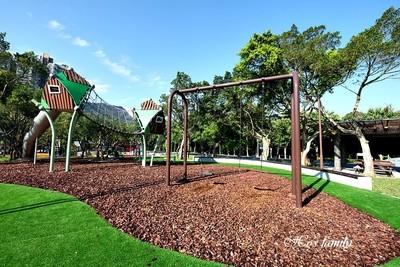 南港公園新開!「飛鳥溜索」免費玩