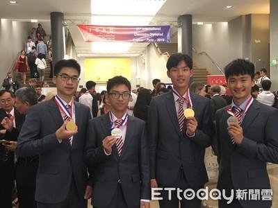 國際化學奧林匹亞台生奪2金2銀