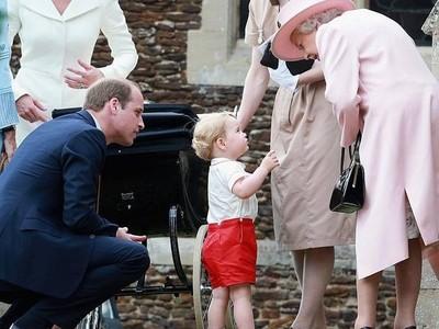 喬治王子生日,英女王悄悄送禮物