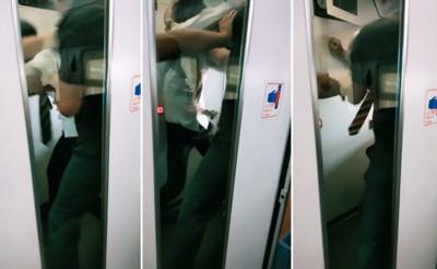 旅客「爆打逃票男」 台鐵回應了