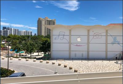 蘋果改建佛州專賣店 創新融合海浪、音樂和藝術