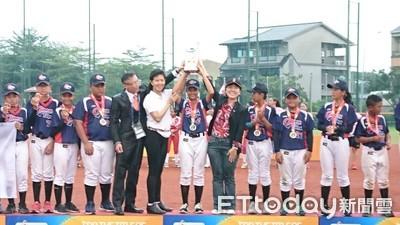 U-12世界盃壘球錦標賽中華隊是大贏家