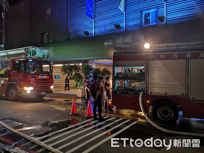 男獨住汽旅疑吸菸引火 13房客驚逃