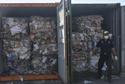 印尼7大貨櫃廢棄物退回法國、香港