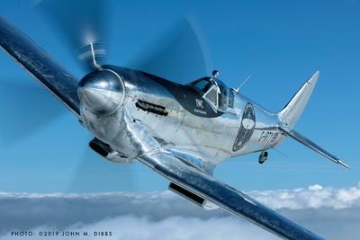傳奇噴火式戰鬥機 9月首度訪台