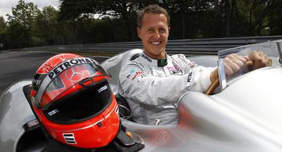F1傳奇車手舒馬克傳出甦醒