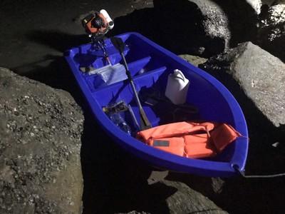 陸男划船偷渡 被岸巡「圍觀2小時」才上岸
