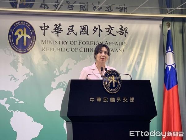 ▲▼外交部副發言人歐江安。(圖/記者蔣婕妤攝)