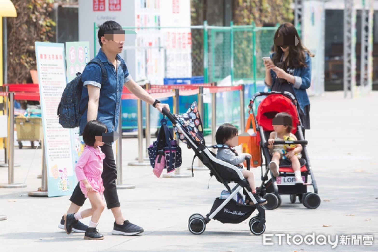 ▲▼育兒,嬰兒車,親子,帶小孩。(圖/記者季相儒攝)