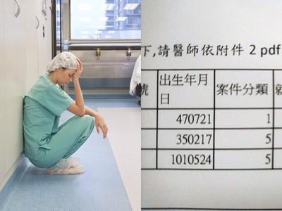 台北醫看診倒下送開刀房!竟收到扣費通知