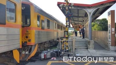 新竹騎士擦撞火車 臉粉碎性骨折送醫