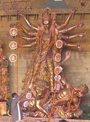 ▲杜爾伽。(圖/翻攝自Wikipedia)