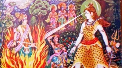 為替雪神挽回濕婆 愛神伽摩遭怒火燒成灰燼!「無形無貌」存在世間