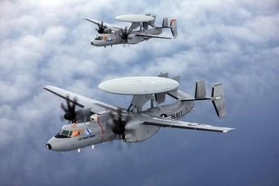 E-2D預警機裝「反隱形」雷達 能抓殲20整機4億美元