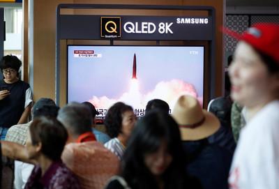 北韓一周3射 南韓:可能是近程飛彈