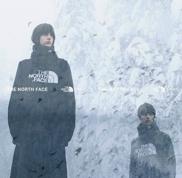 ▲HYKE X The North Face 2019。(圖/翻攝自HYKE The North Face 2019、IG@thenorthfacehyke)