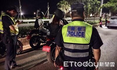 金山警專盯防飆 2個月開罰154件