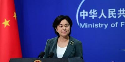 華春瑩回應川普「接見示威者說」