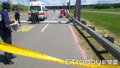 年輕媽自撞護欄 女嬰拋飛破頭亡
