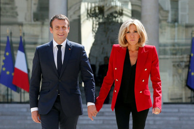 法國第一夫人比馬克宏大24歲 到巴黎整形