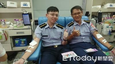 海巡署南部分署第11岸巡隊捐血救人