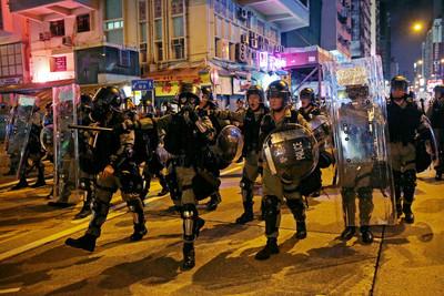 應對香港紛亂 「佔中」行動處長劉業成回鍋
