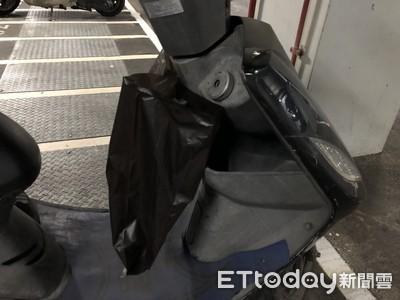 「薑母鴨袋子」掛機車竟消失 內容物曝光笑慘
