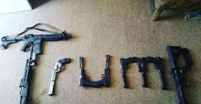 德州商場槍手按讚「9槍拼字TRUMP」