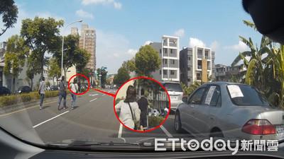 藥頭警察當街追逐 駕車追人贓俱獲