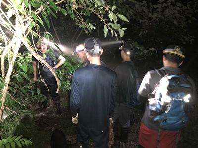 6男女古魯山徑北峰迷途 漏夜搜救找到了