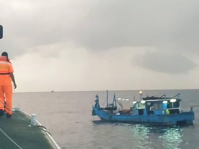 漁船失去動力蘇澳外海漂流 海巡火速救援