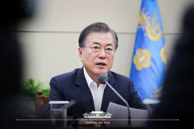 文在寅:兩韓和平經濟將輕易趕上日本