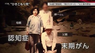日男家裡蹲30年全靠爸媽! 老父母去世後「在家活活餓死」