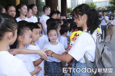 台灣小天使回訪 上海小熒星熱情歡迎