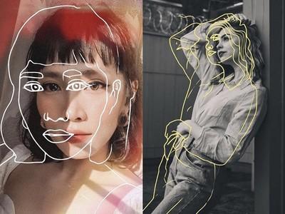 網美都搶著用手繪風「素描」濾鏡