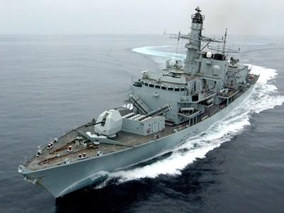 英派海軍駐波斯灣 加入美方護商船