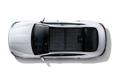 現代油電Sonata太陽能車頂充電