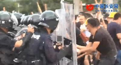 1.2萬公安深圳亮劍!模擬平定「黑衣示威者」