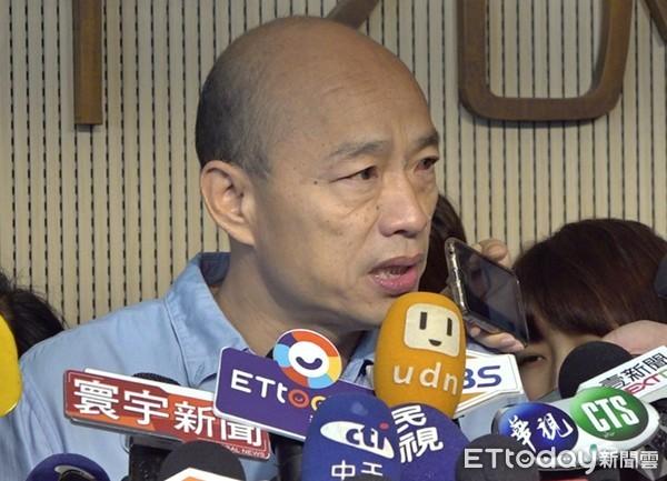▲▼高雄市長韓國瑜。(圖/記者賴君欣攝)