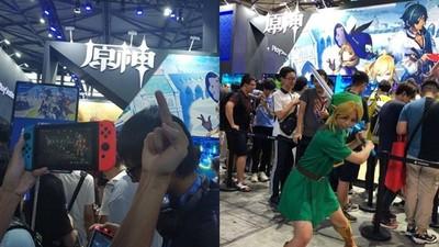 抄襲還在任天堂前面擺攤 《原神》惹玩家怒砸PS4:丟盡中國人臉