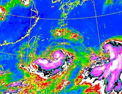 利奇馬海警下午發布!強風豪雨炸2地區
