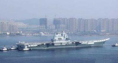 航母通過台灣海峽!解放軍:與當前局勢無關