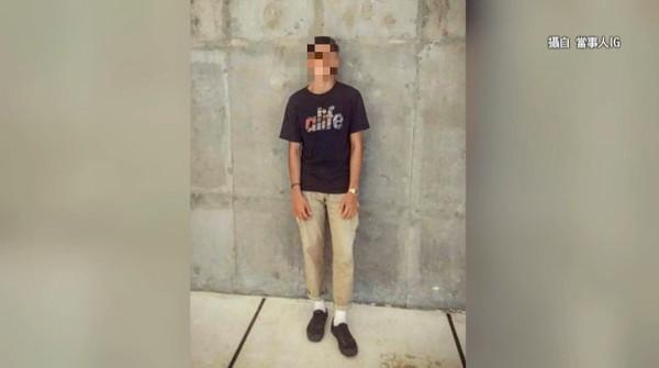 「東吳183天菜」偷拍16次PO網 前女友現身:照鏡子都覺得自己很噁心。(圖/東森新聞)
