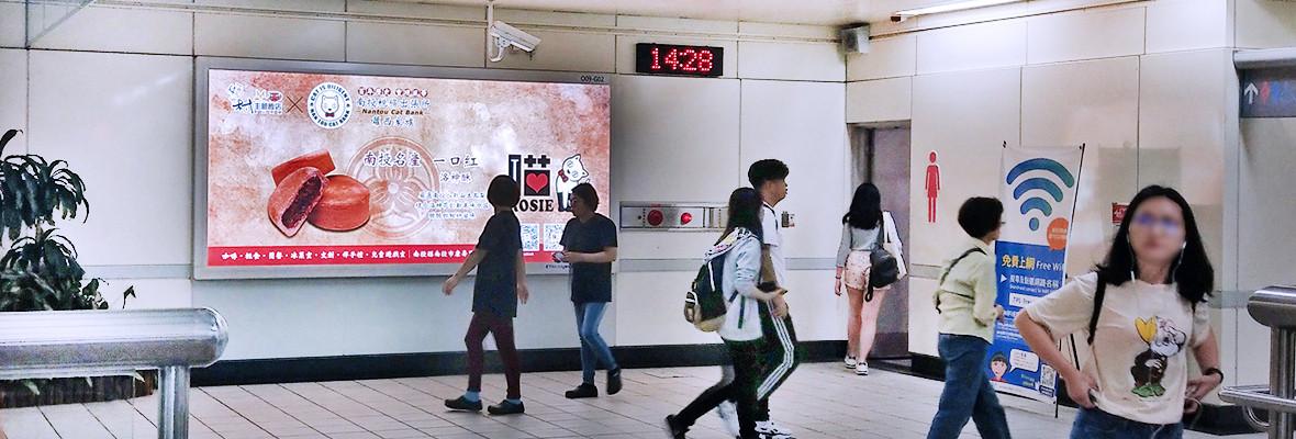 行天宮站橫式燈箱