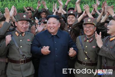 北韓官媒:昨試射2枚戰術誘導飛彈
