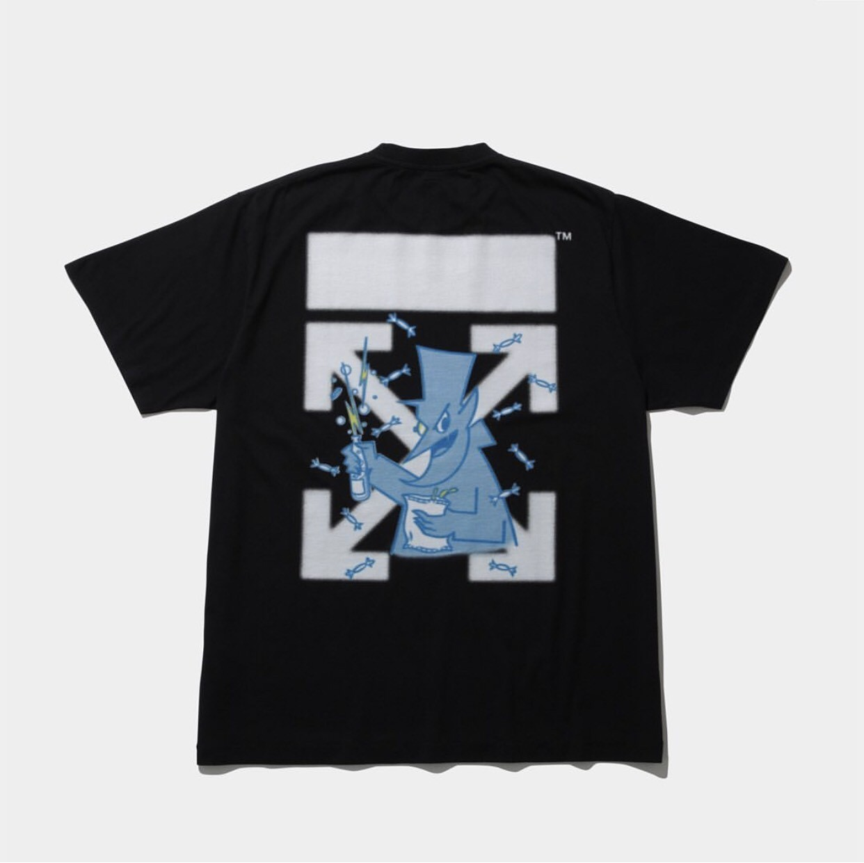 ▲Off-White X Fragment Design「CEREAL」T-Shirt系列。(圖/翻攝自IG@theconveni)