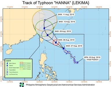 利奇馬菲律賓海緩慢移動 預計帶來大雨
