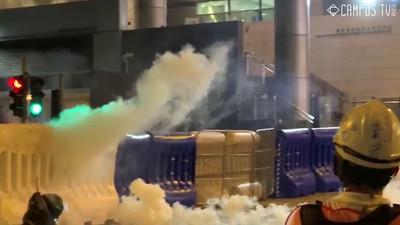香港商界指責暴力影響經濟 支持政府