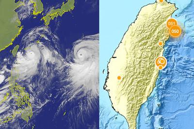 「颱風會引發慢地震」台灣科學家10年前就證實